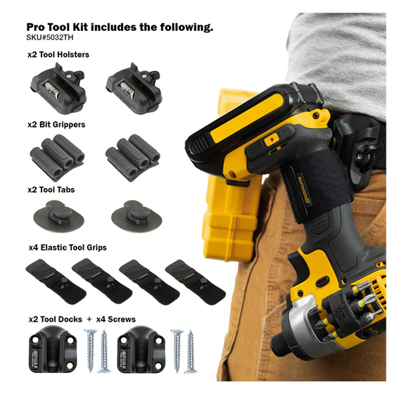 Spider Tool Holster 12 Piece Pro Tool Kit