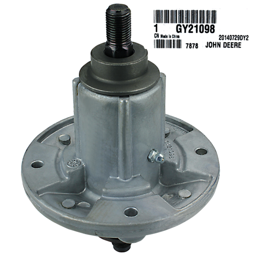 JOHN DEERE #GY21098 BLADE SPINDLE ASSEMBLY