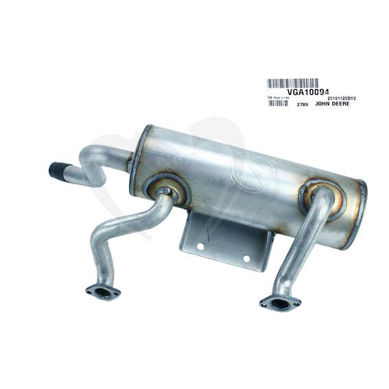 John Deere #VGA10094 Muffler