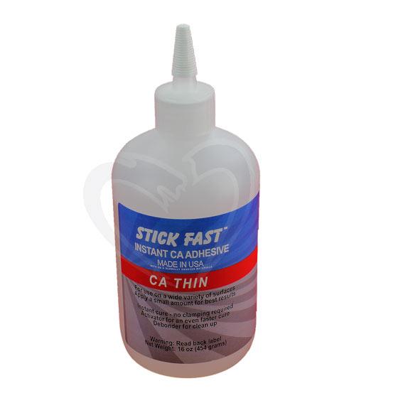 Stick Fast Thin CA Glue, 16 ounce