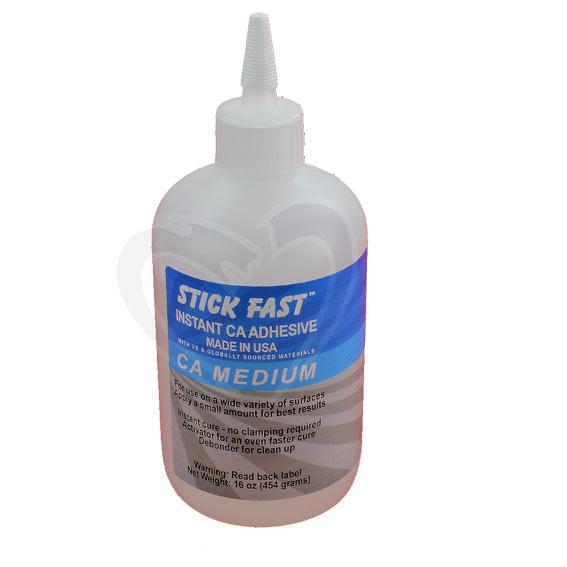 Stick Fast Medium CA Glue, 16 ounce