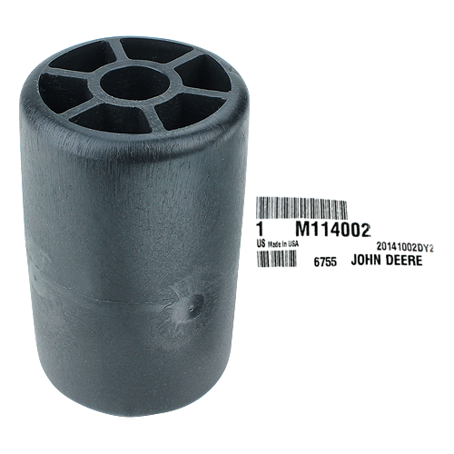 JOHN DEERE #M114002 4 INCH MOWER DECK ROLLER