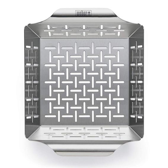 Weber 6481 Deluxe Grilling Basket