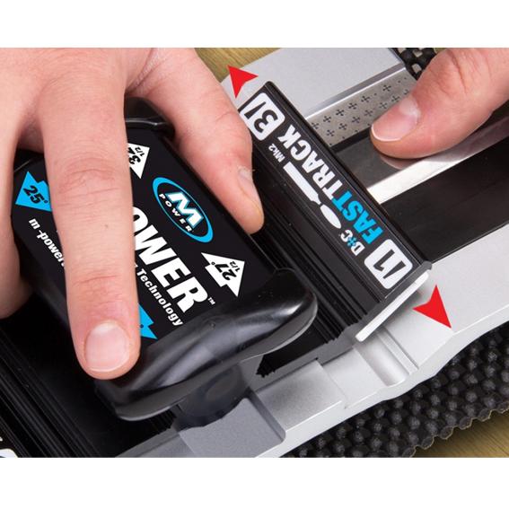 M-Power FastTrack MK2 Sharpening System Bundle, In Use 1