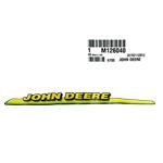John Deere #M126040 Right Hand Hood Decal