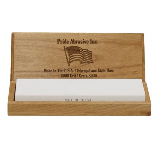 Pride Abrasive WW8000 8000 Grit Water Stone, 8X3X1