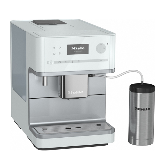Miele CM 6350 Countertop Coffee Machine, White