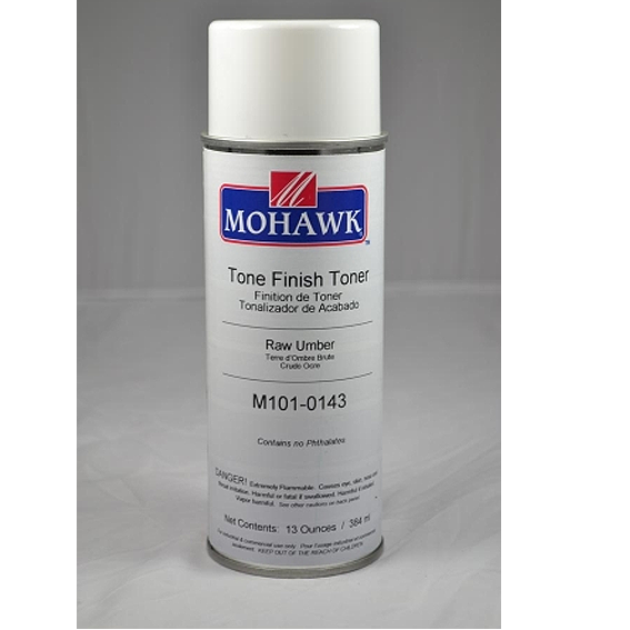 Mohawk M101-0143 Raw Umber Tone Finish Toner, 13 ounce