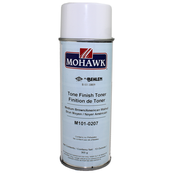 Mohawk M101-0207 Medium Brown American Walnut Tone Finish Toner, 13 ounce