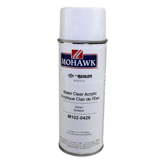Mohawk M102-0426 Gloss Water Clear Acrylic, 13 oz.