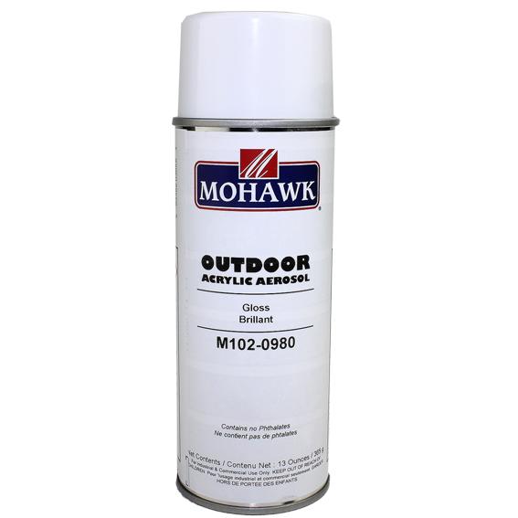 Mohawk M102-0980 Gloss Outdoor Acrylic Aerosol, 13 ounce
