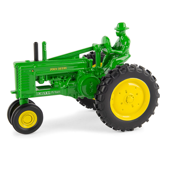Ertl LP74512 Prestige 1:32 Scale 75th Anniversary John Deere Model A Tractor with Farmer