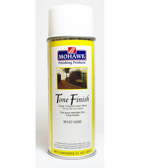 Mohawk M107-0200 Tone Finish Furniture Wax with Oil of Lemon, 13 ounce