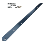 JOHN DEERE #M75674 BLADE WEAR STRIP
