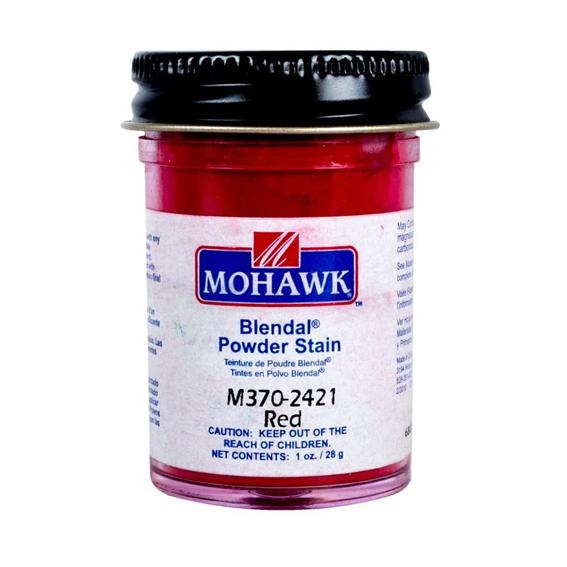 Mohawk M370-2421 Blendal Powder Stain Red, 1 oz.