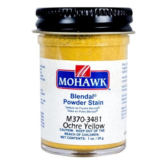 Mohawk M370-3481 Blendal Powder Stain Ochre Yellow, 1 oz.