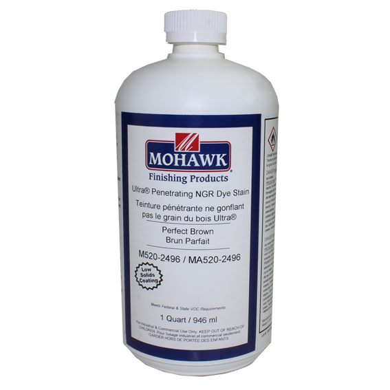 Mohawk M520-2496 Ultra Penetrating NGR Stain Perfect Brown, Quart