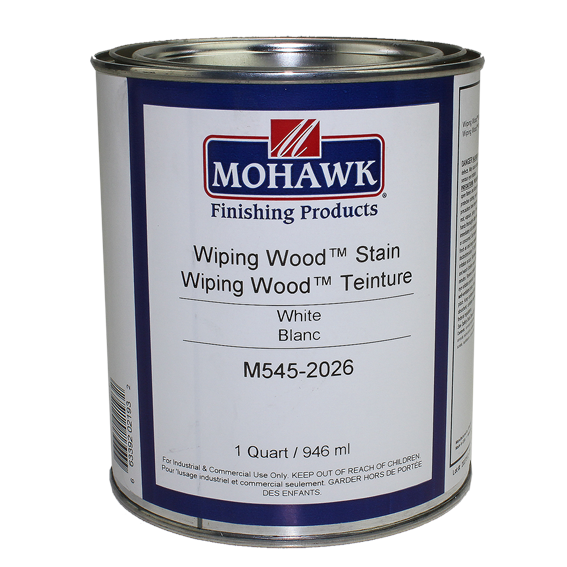 Mohawk M545-2026 Wiping Wood Stain White, Quart