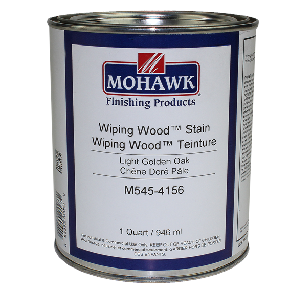 Mohawk M545-4156 Wiping Wood Stain Light Golden Oak, Quart