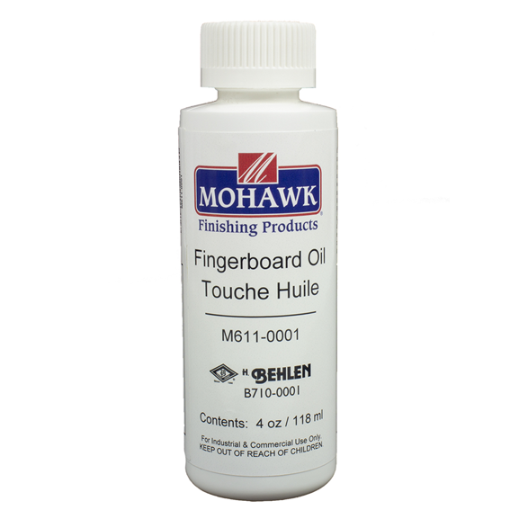 Mohawk M611-0001 Fingerboard Oil, 4 ounce