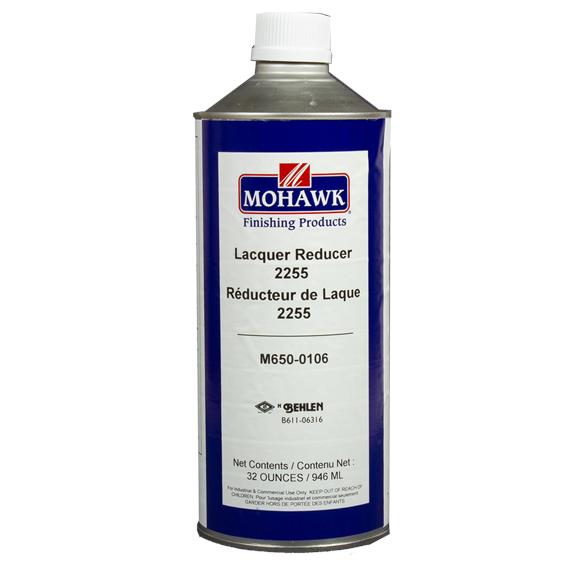 Mohawk M650-0106 Lacquer Reducer 2255, Quart