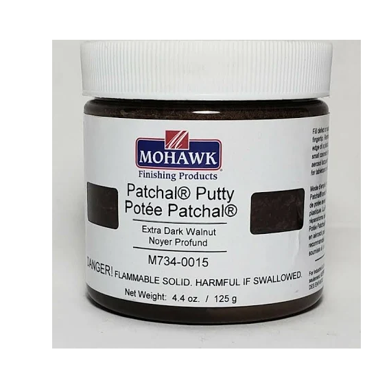 Mohawk M734-0015 Patchal Putty Extra Dark Walnut, 4.4 oz.