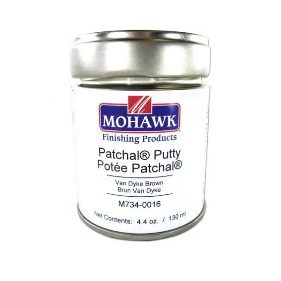 Mohawk M734-0016 Patchal Putty Van Dyke Brown, 4.4 oz.