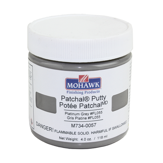 Mohawk M734-0057 Patchal Putty Platiunum Grey #FL055, 4.4 oz.