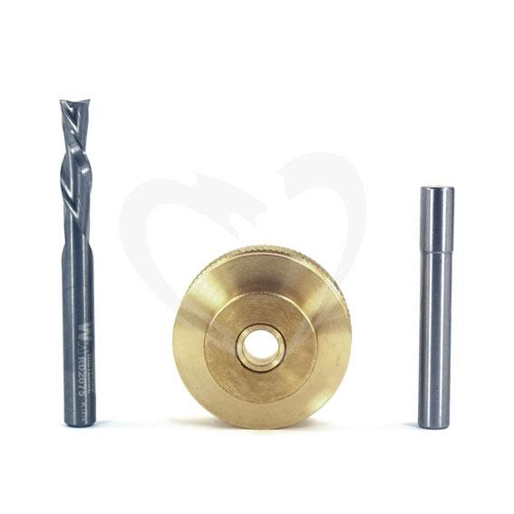 Whiteside 9501 Large Brass Inlay Kit