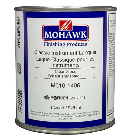 Mohawk M610-1406 Classic Instrument Lacquer, Quart