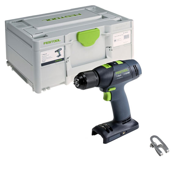 Festool 576758 T 18+3-E Drill Basic