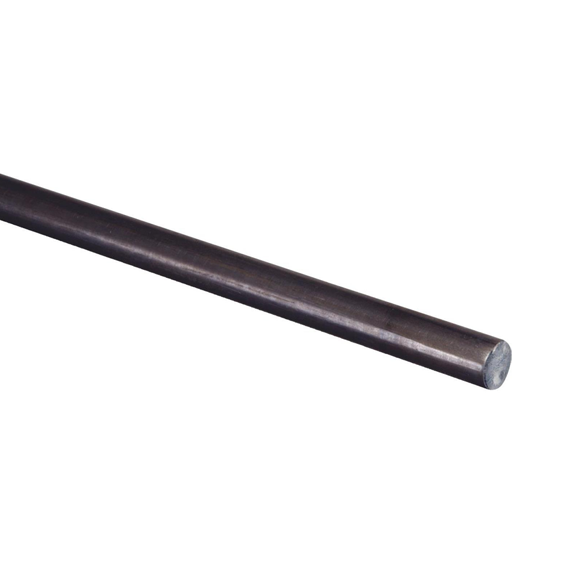 Hillman 11627 Weldable Cold-Rolled Steel Solid Rod, 1/8 x 36