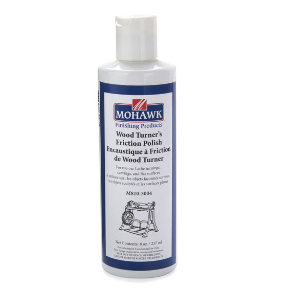 Mohawk M810-3004 Woodturner's Friction Polish, 8 ounces