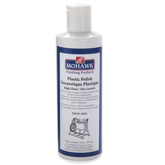 Mohawk M810-4004 Turner's High Gloss Plastic Polish, 8 ounces
