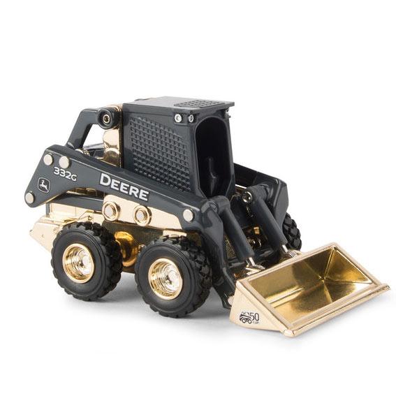 Ertl LP74595 1:50 Scale John Deere 332G Skid Steer