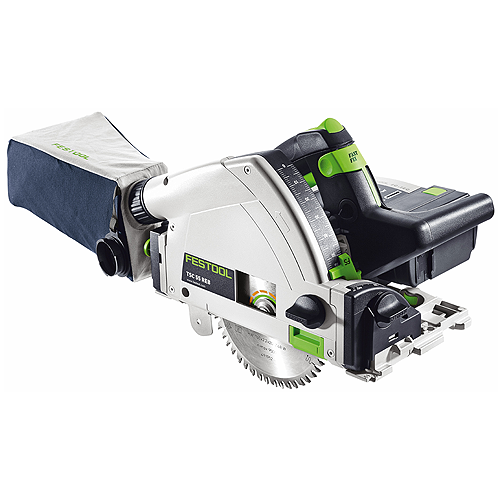 FESTOOL TSC 55 REB Li XL SET CORDLESS PLUNGE-CUT TRACK SAW METRIC