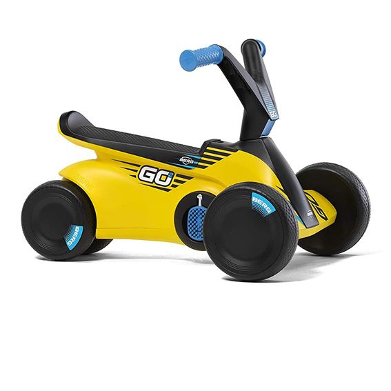 Berg Toys 24.50.04.00 GO2 Sparx Yellow Pedal Go Kart