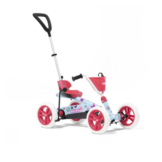 Berg 24.32.01.00 Buzzy Bloom 2-In-1 Pedal Car