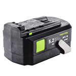 FESTOOL 500531 18 VOLT LI-ION REPLACEMENT BATTERY - 5.2 AH