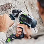 FESTOOL PDC 18/4 QUADRIVE CORDLESS HAMMER DRILL - IN USE #1