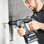 FESTOOL BHC 18 CORDLESS ROTARY HAMMERDRILL - IN USE #2