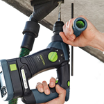 FESTOOL BHC 18 CORDLESS ROTARY HAMMERDRILL - IN USE #3
