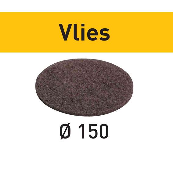 Festool 201126 D150 Vlies 100 Medium Sanding Discs, 10 ct