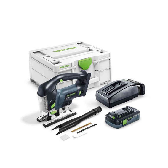 Festool 576535 PSBC 420 HPC 4 0 EBI-Plus Cordless D-Handle Carvex Jig Saw