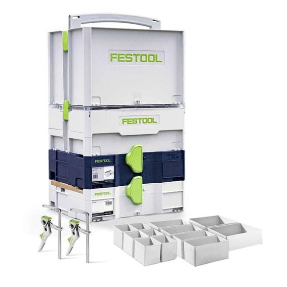Festool 576913 Systainer Installer's Set T-LOC-INSTL-SYS-B-SET