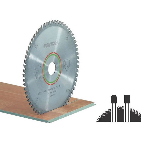 Festool 489458 AT65 / AP65 Laminate & Solid Surface Saw Blade