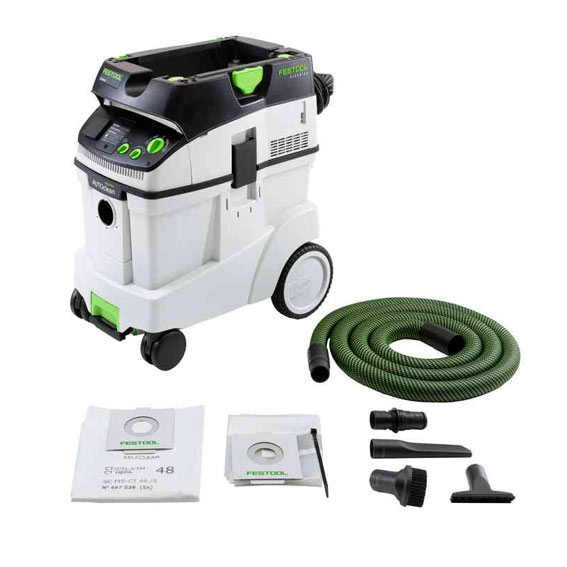 Festool 576761 CT 48 AC HEPA Dust Extractor, With Accessories