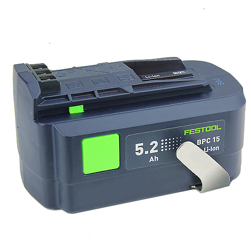 Festool 500530 15 Volt Li-Ion Battery - 5 2 Ah