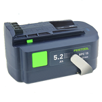 Festool 500530 15 Volt Li-Ion Battery - 5.2 Ah