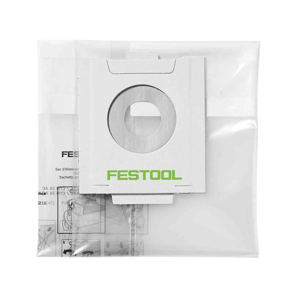 Festool 497540 Disposable Dust Liners ENS-CT 48 AC/5